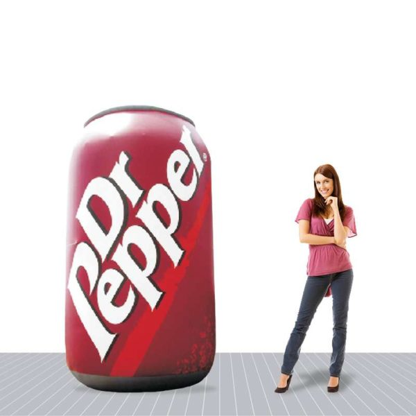 6′ Giant Advertising Inflatable Can