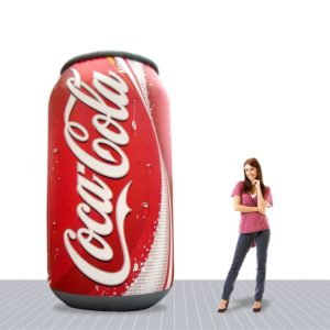 10′ Giant Advertising Inflatable Can