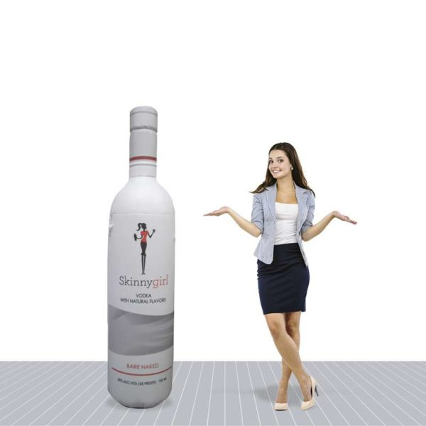 6′ Promotional Inflatable Bottle
