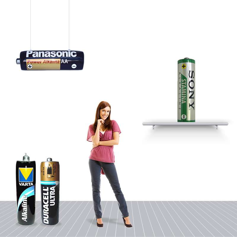 PVC Sealed Advertising Inflatable Batteries