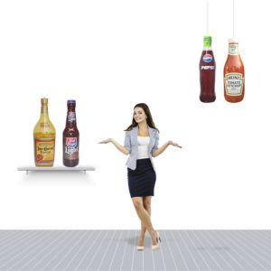 PVC Sealed Advertising Inflatable Bottles