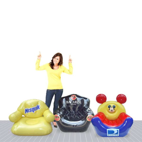 PVC Sealed Advertising Inflatable Chairs